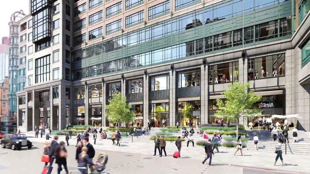 BREEAM RFO Very Good 135 Bishopsgate for British Land -