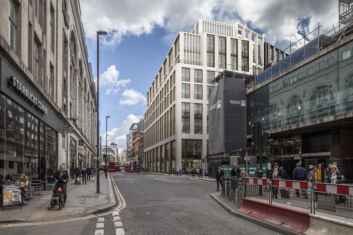 BREEAM NC Excellent Castlewood House for Royal London Asset Management -