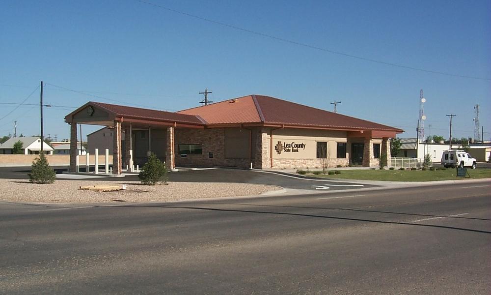 Lea County State Bank, Lovington NM