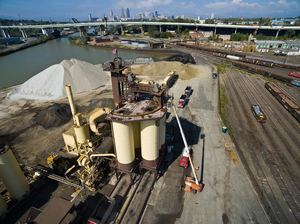 Kokosing Materials, Cleveland Asphalt Plant