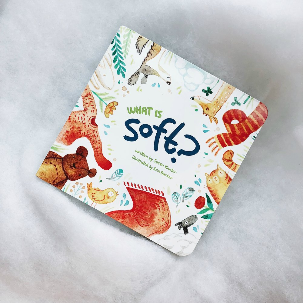 What Is Soft?   written by Susan Kantor and illustrated by Erin Barker