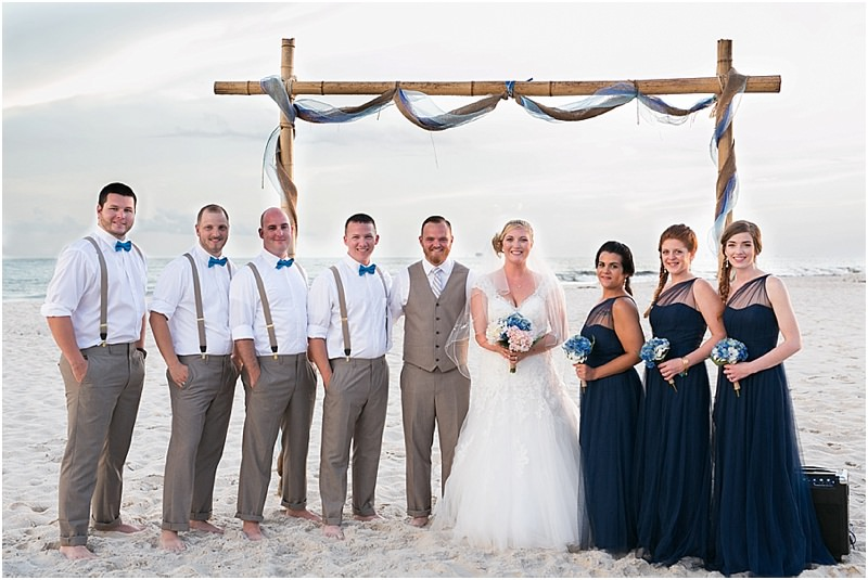 Gulf Shores Wedding Party