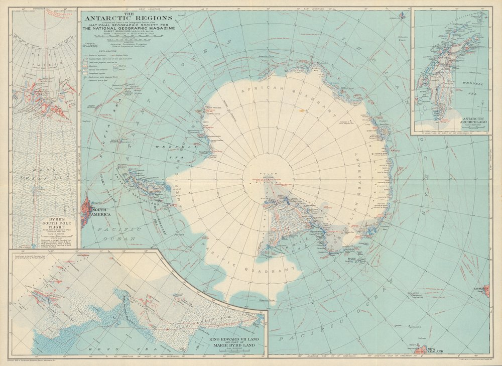 Antarctica by National Geographic Magazine (1932).jpg