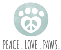 Peace. Love. Paws.