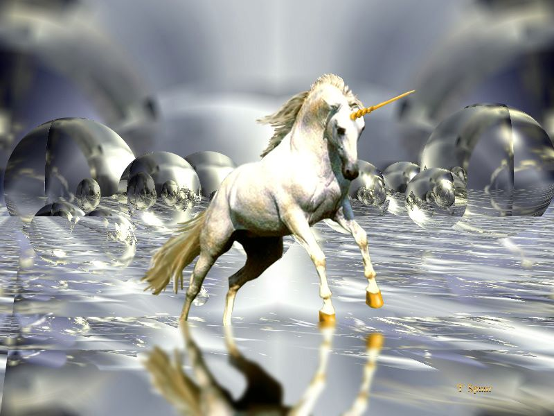 Channeling - A Message from the White Unicorn - Featured and Posting Full Image - DO NOT DELETE