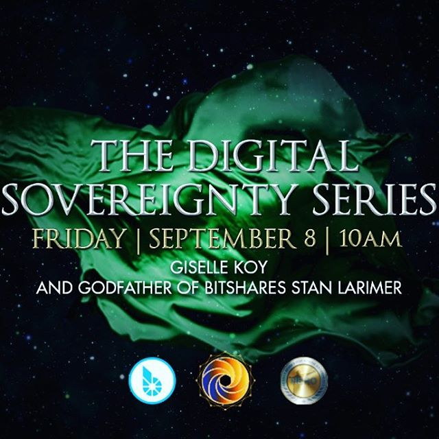 Let's all learn about a highly evolved new crypto currency and how to help humanity bring in a new financial system together! Free livestream at this link:  http://bit.ly/2xQhrci