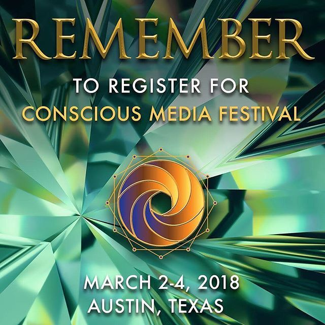Unlock your super powers at the second @ConsciousMediaFestival in Austin, TX on March 2-4, 2017. 🌟 Register now before the price increase at www.consciousmediafestival.com/tickets.