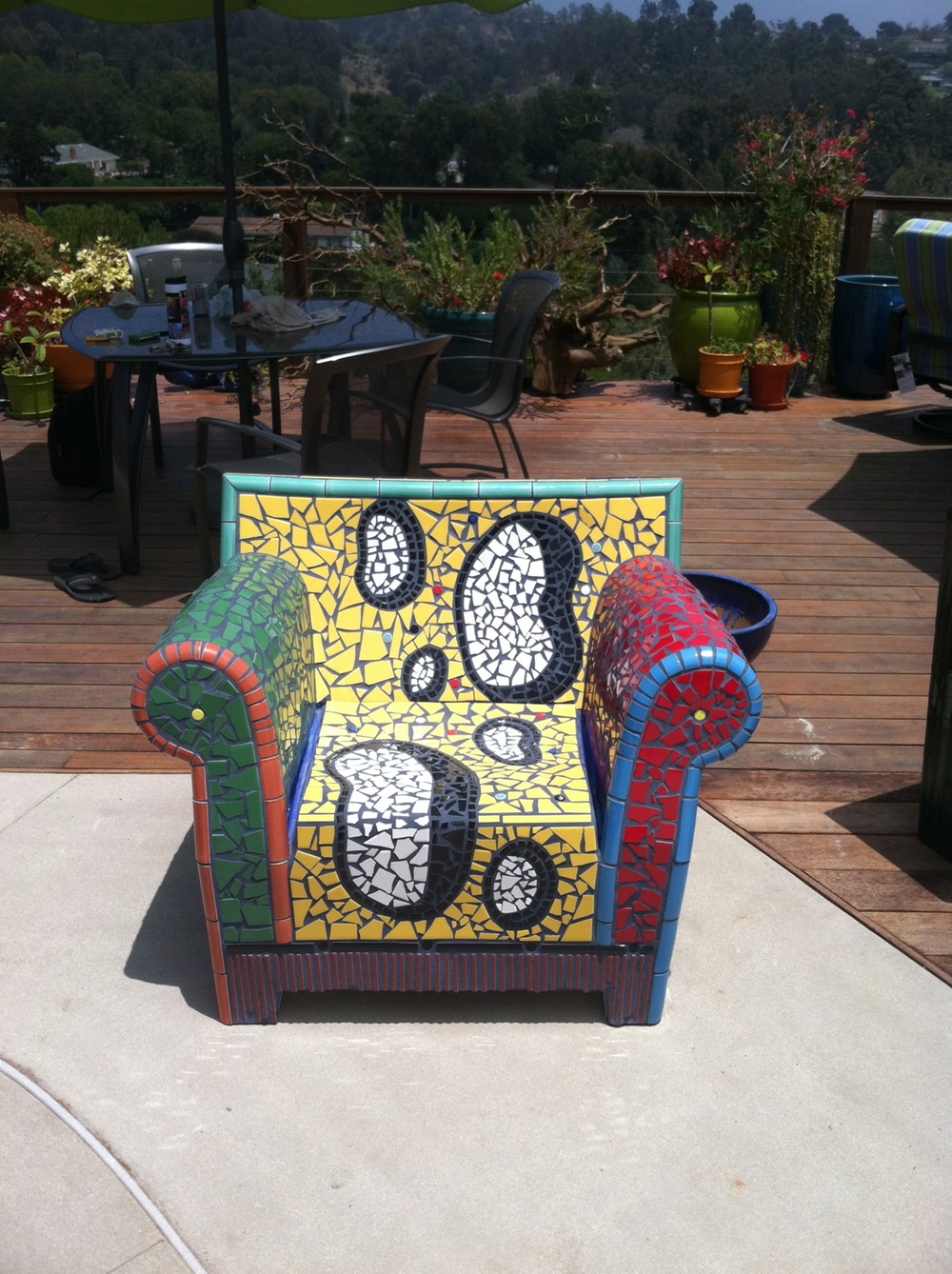 Mosaic Tile Chair