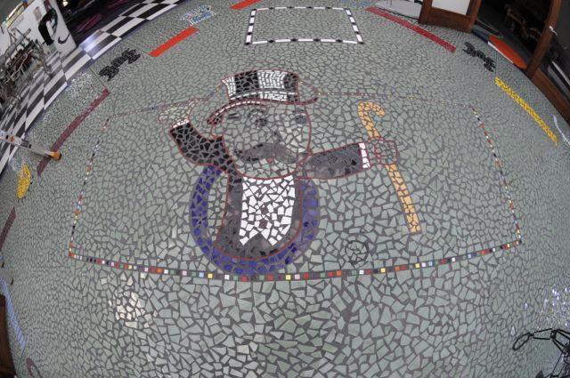 Mosaic Monopoly Tile Floor