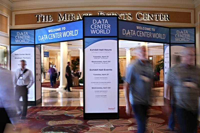 AFCOM hosted its 2015 Data Center World Global conference at the Mirage in Las Vegas fromApril 19-23, 2015. Image from AFCOM.