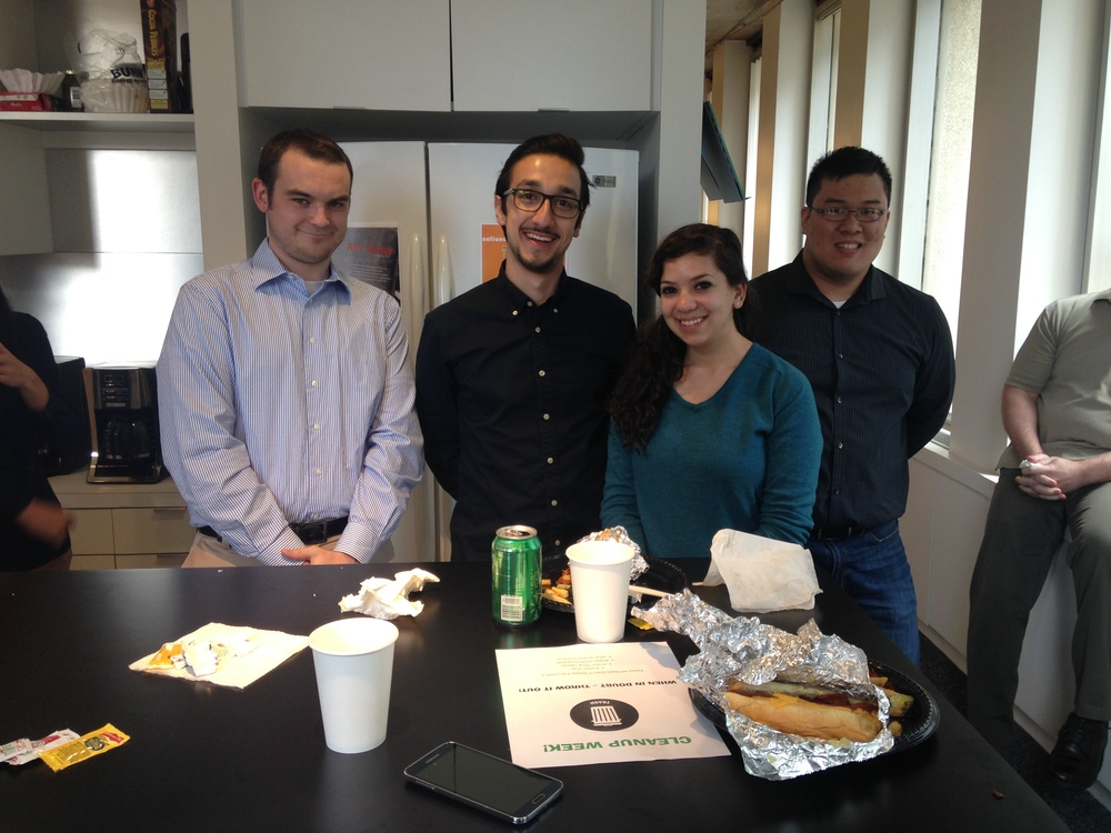 Our specialties include.. architecture, engineering, and eating too much free lunch.