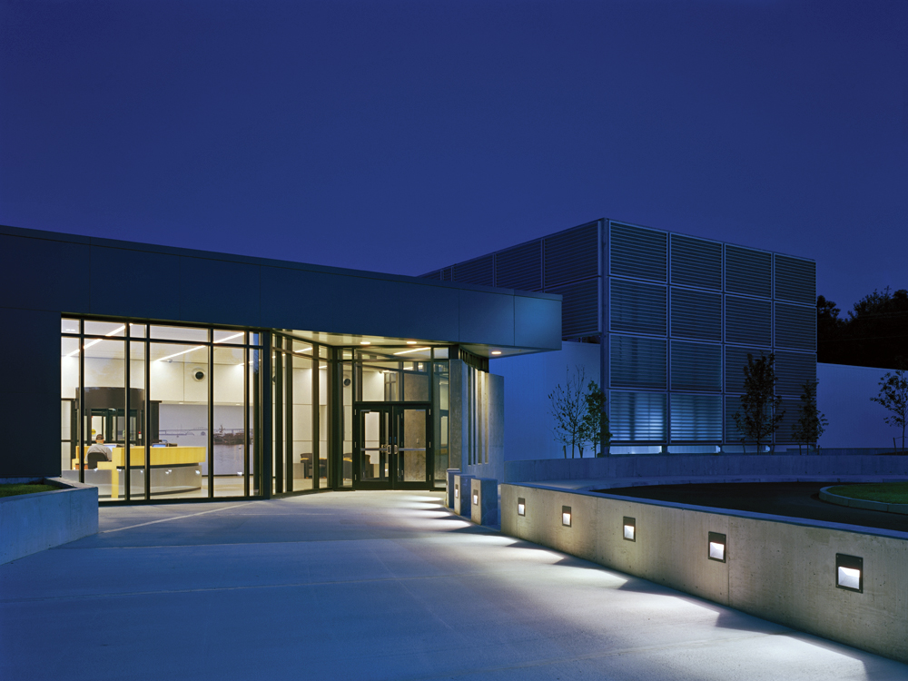 Citizens EPOC Data Center Front at Night