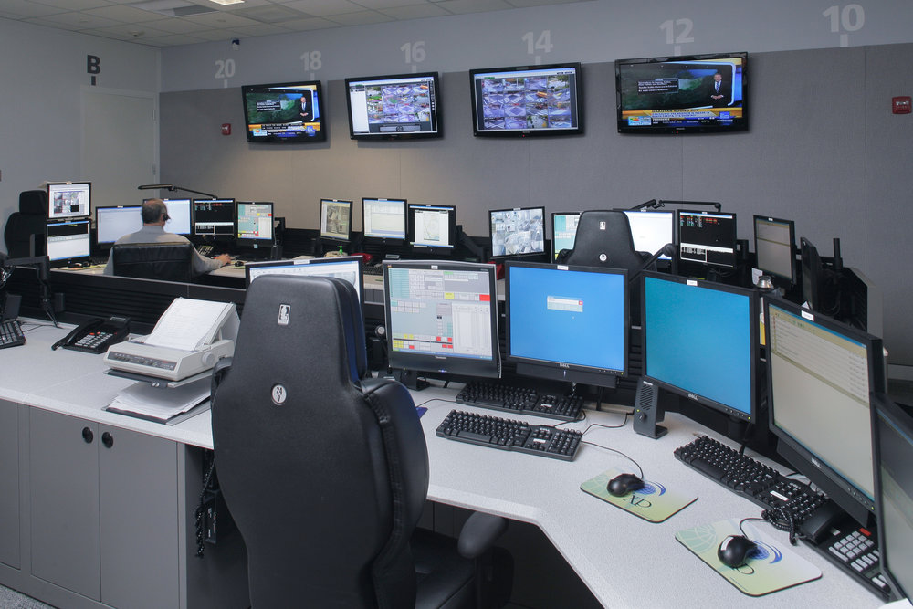Brown University Public Safety Command Center