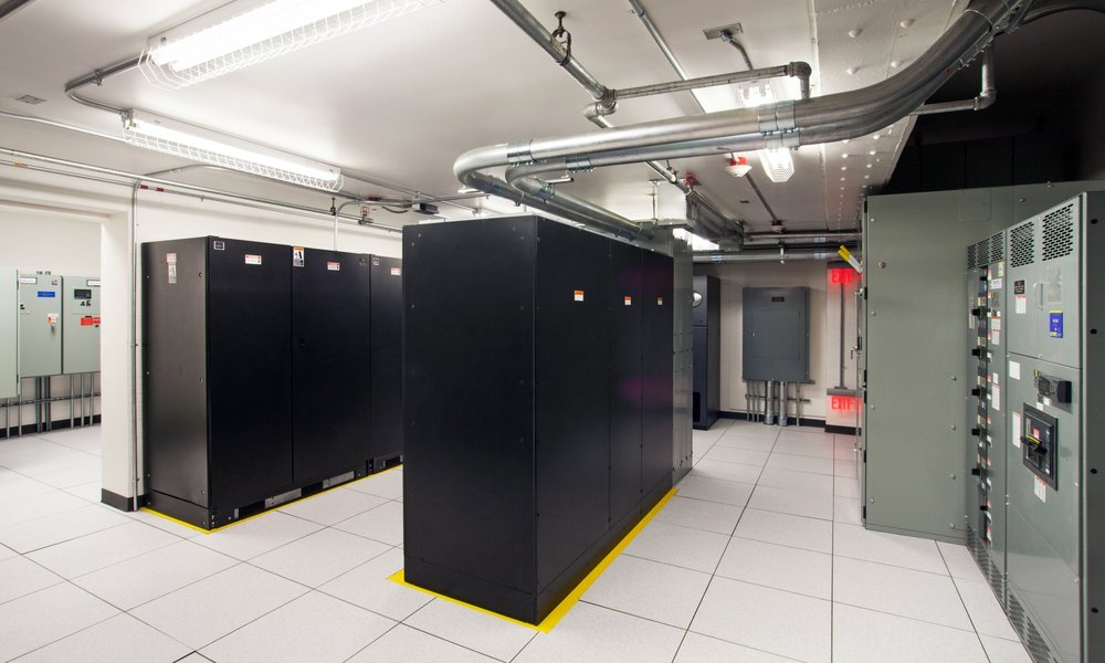 TAB Data Center UPS Room
