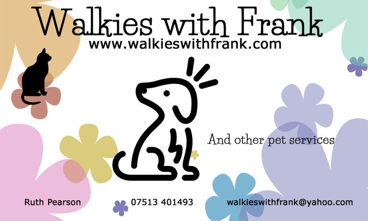 Walkies with Frank