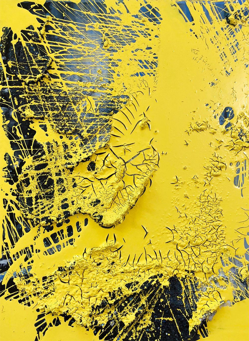 Wet Paint Yellow