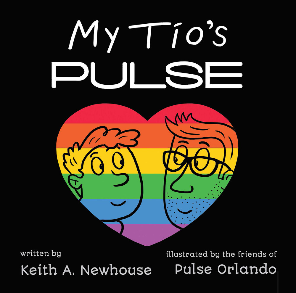 My Tio's Pulse  is a Children's book conceived and published in 2018 by  newhouse Creative Group  in Orlando, FLorida. The story explains the 2016 Orlando Pulse tragedy to kids in a non-threatening way. I became Director of Layout & Design as well as a contributing illustrator. Look for the Spanish version in 2019.