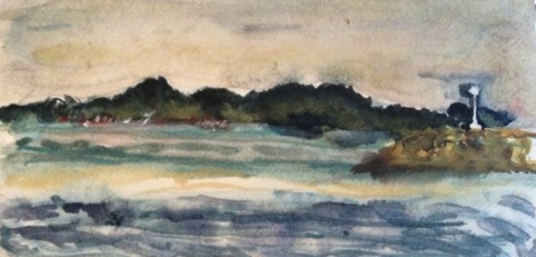 """Koh Samed"" (Watercolor)"
