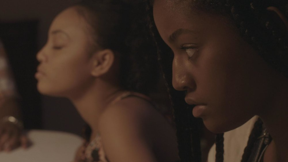 Still from   Cross My Heart  , a short film written and directed by Sontenish Myers.