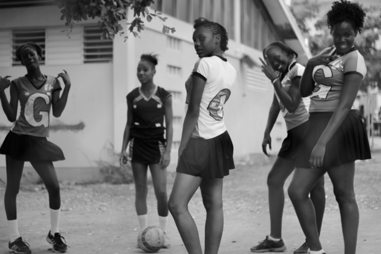 ( Photography ) Netball Team, Kingston, Jamaica, 2015