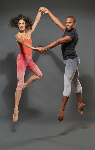 CDT dancers Stefani Crea and Terrence Meadows Photo by Wes Kroninger