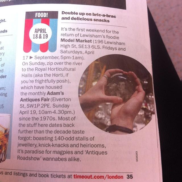 Time Out London, April 2015