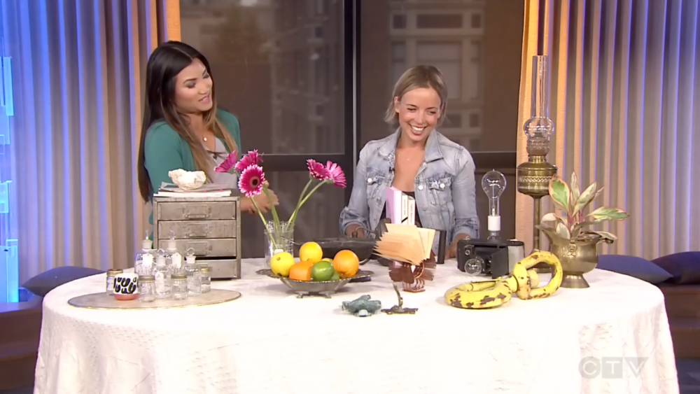 CTV Morning Live: Style Tips to Decorating with Thrift Store Finds