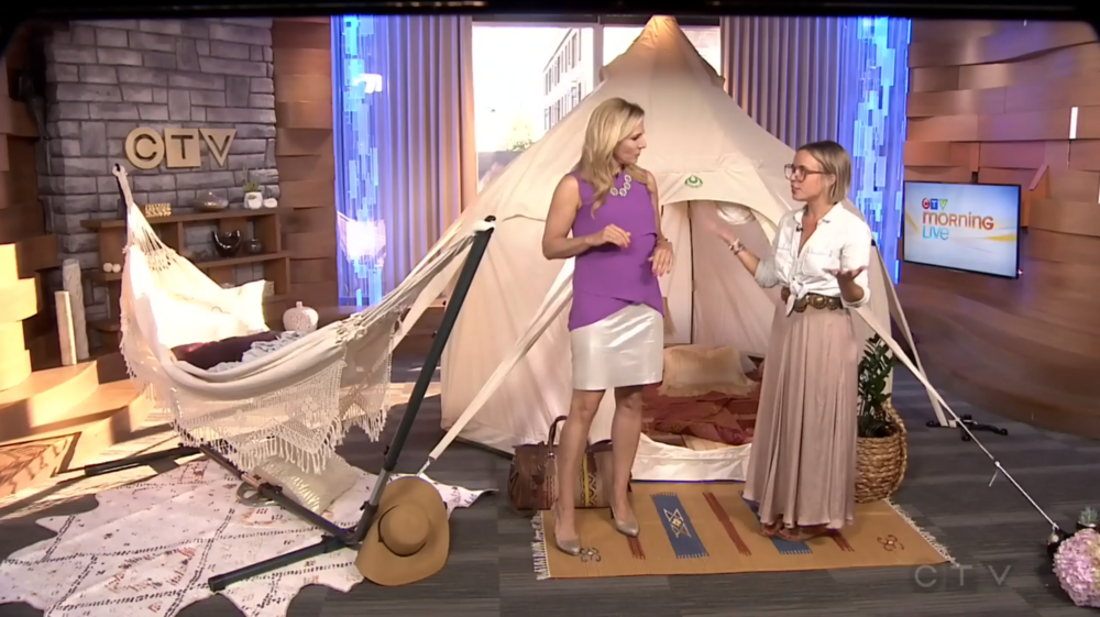CTV Morning Live: Glamping 101