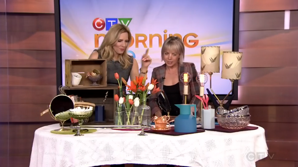 CTV Morning Live: Working with vintage decor in the home