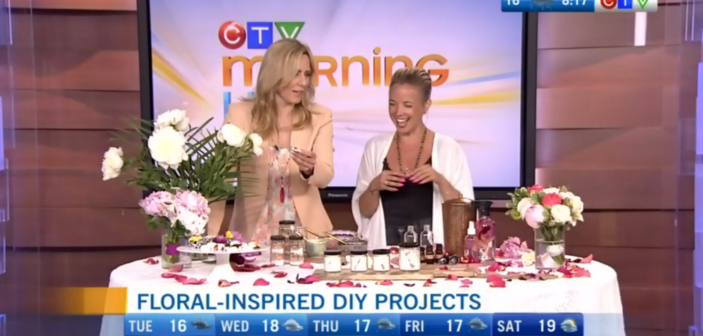 CTV Morning Live: Fresh floral inspired DIY projects