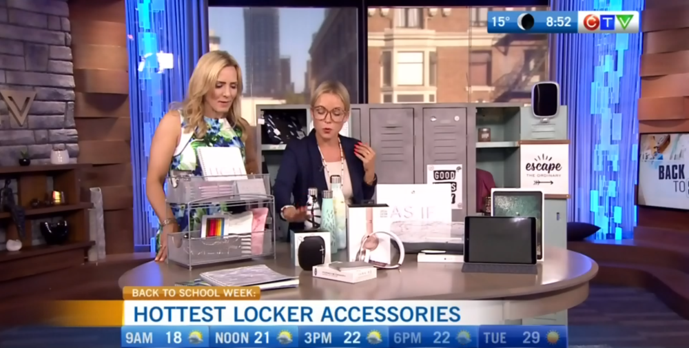CTV Morning Live: Stellar Locker Accessories