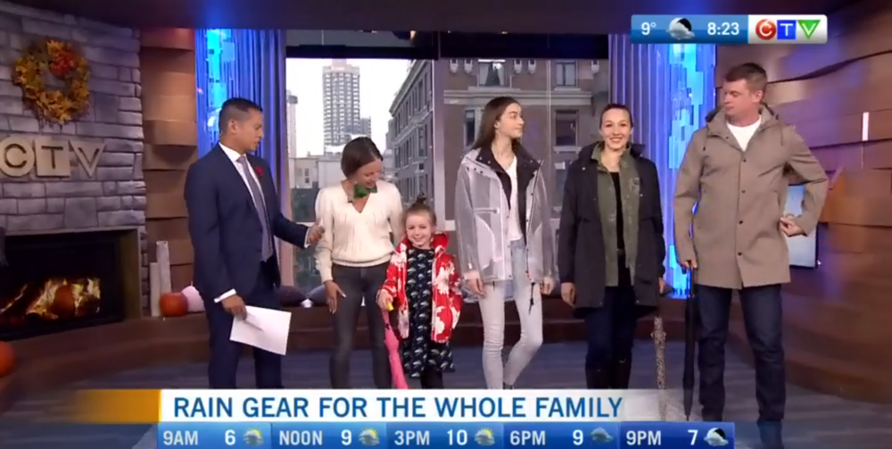 CTV Morning Live: Stylish Rain-gear for the Whole Family