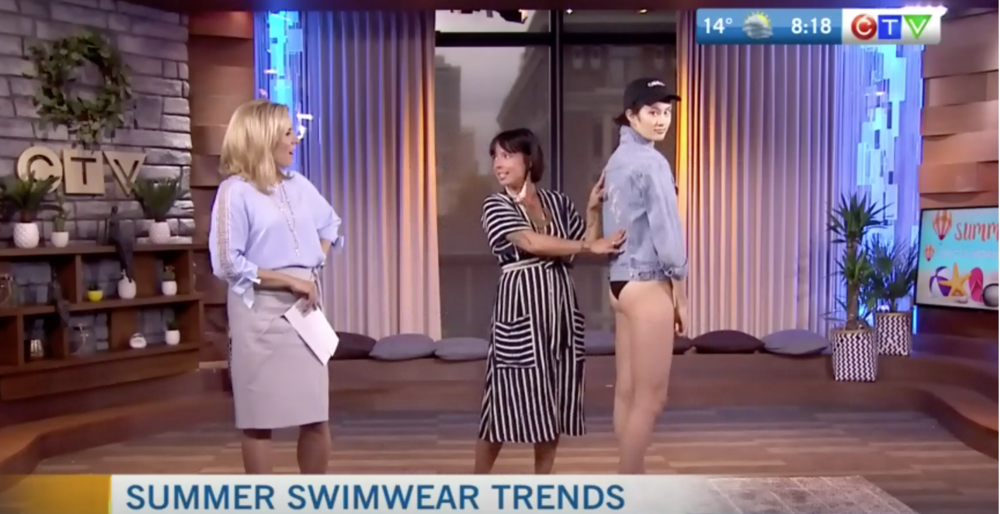 CTV Morning Live: What's Hot for Summer 2018 Swimwear
