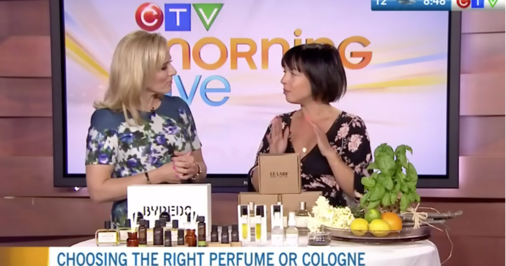 CTV Morning Live: Creating Your Own Scent Story