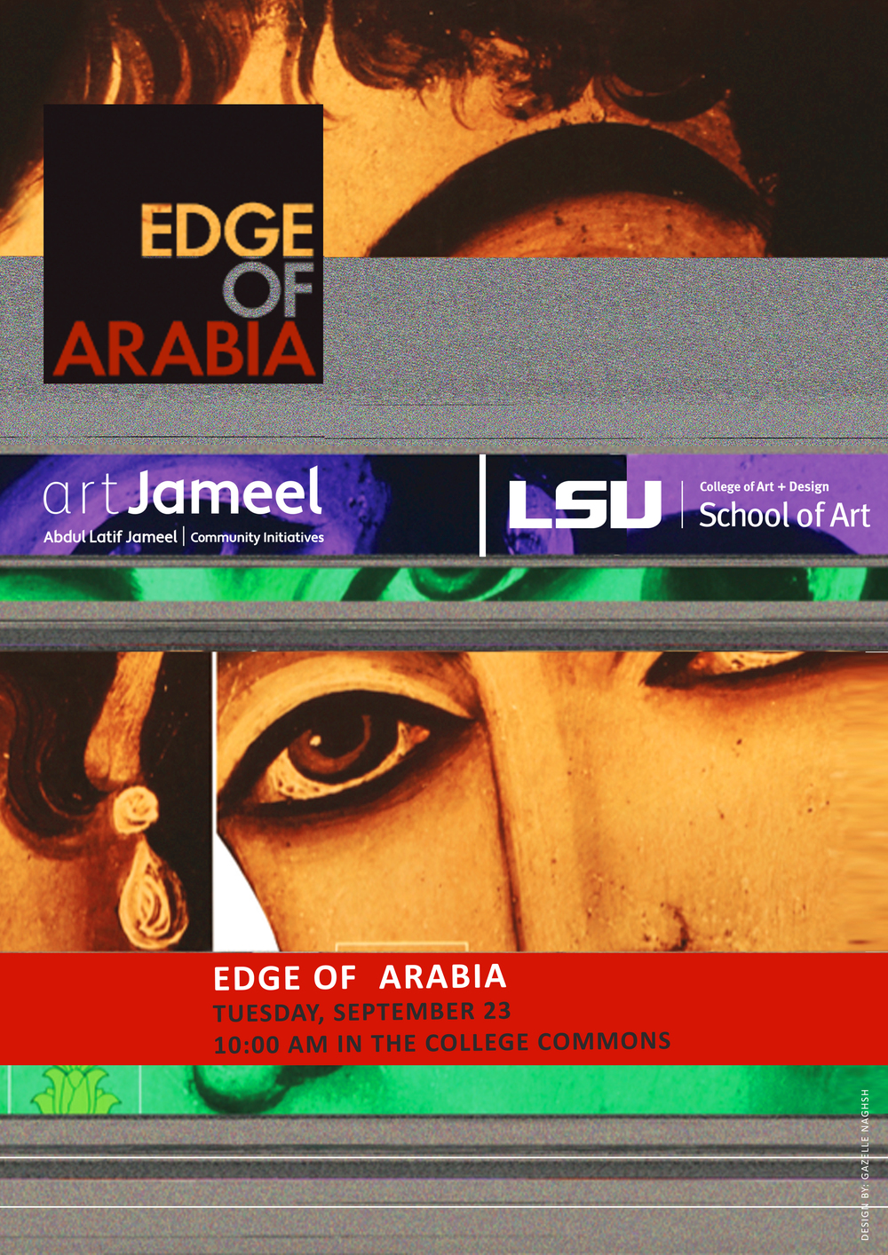 Edge Of Arabia Poster