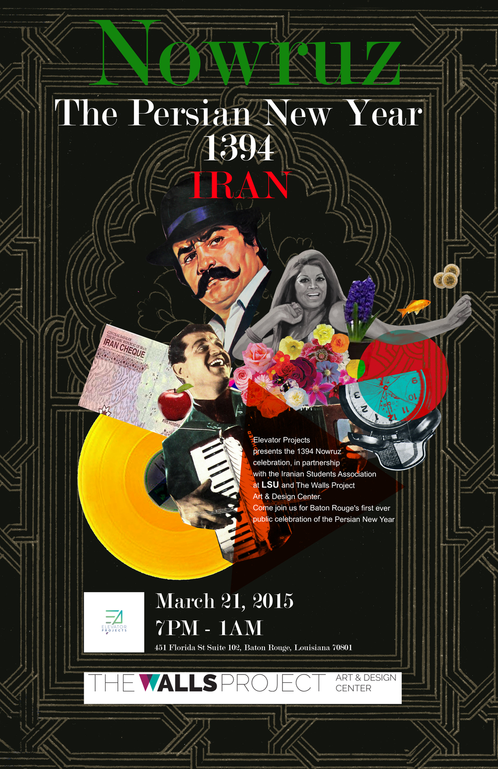 Nowruz The Persian New year Poster