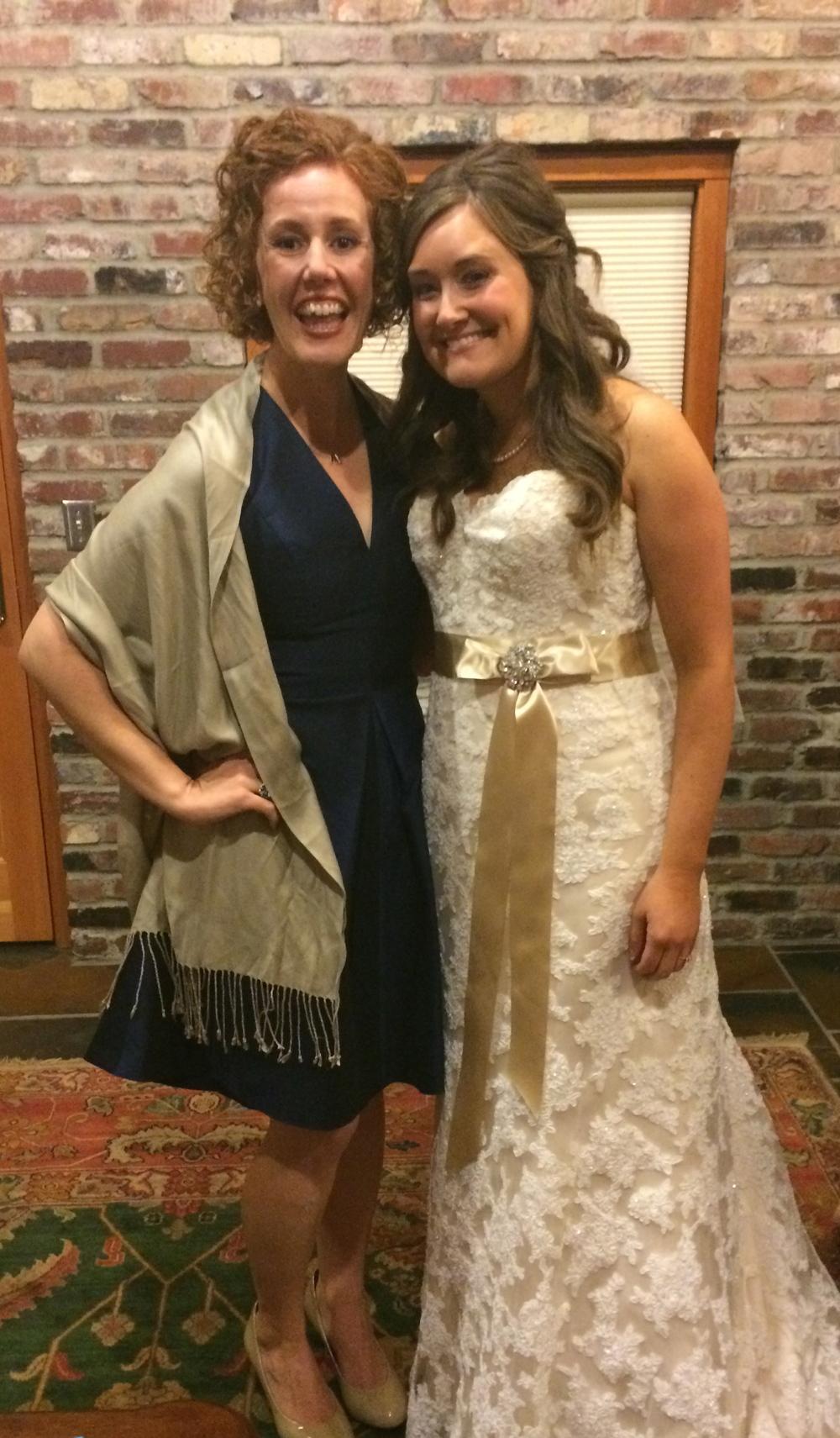 My Beautiful Friend Katie on Her Wedding Day!!!
