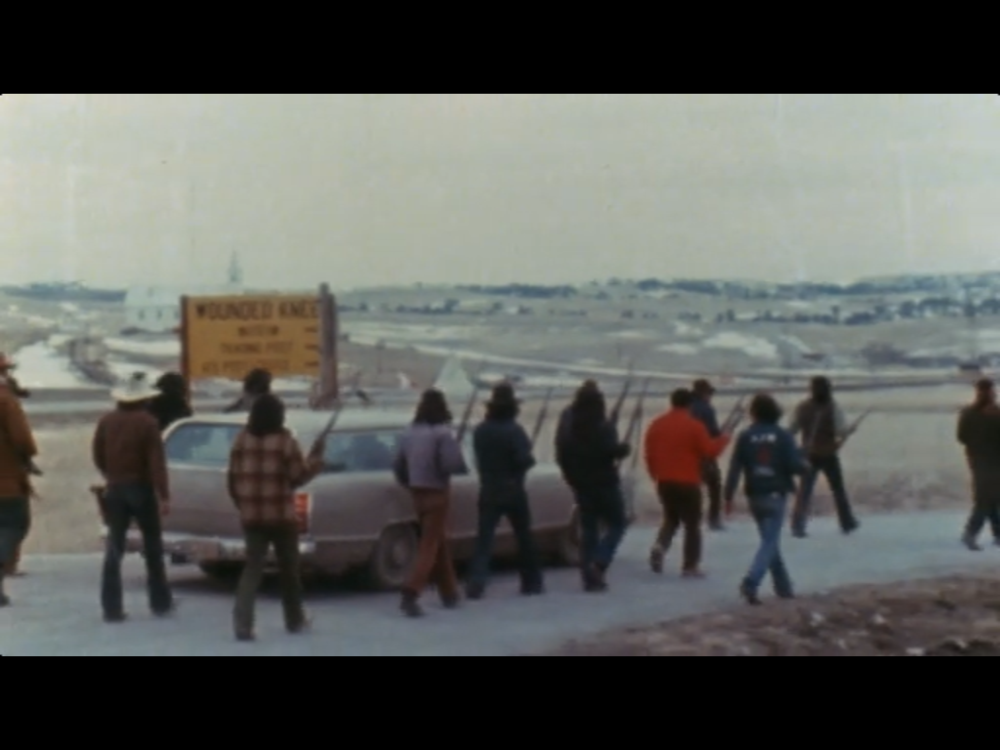 Still from  Incident at Oglala