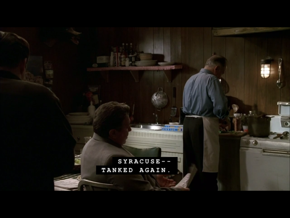 Inexplicable Syracuse Basketball references on  The Sopranos