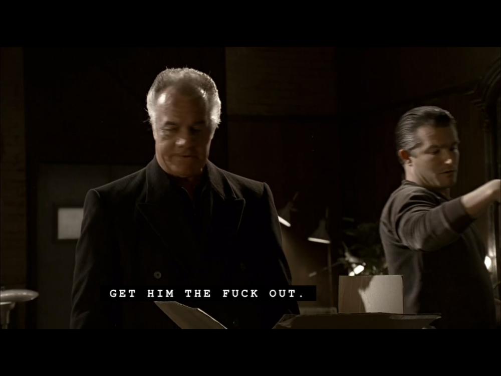 Paulie Walnuts is very superstitious on  The Sopranos