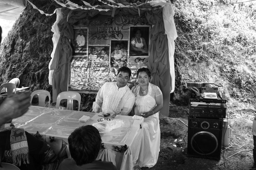 An Ikalahan wedding. Bashoy Village, Kabayan, Benguet.