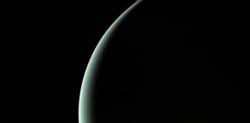 Uranus, photo via NASA