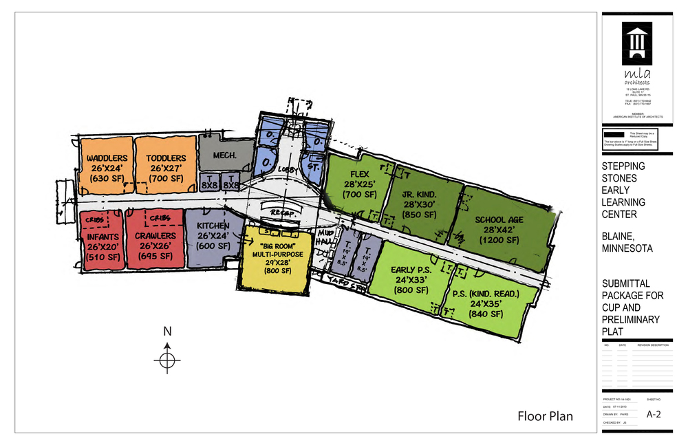 Early Floor Plan