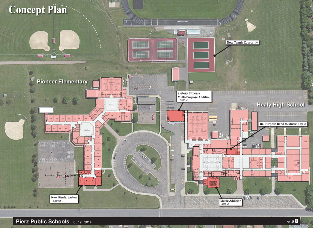Pierz Public Schools Phase I - Concept Plan