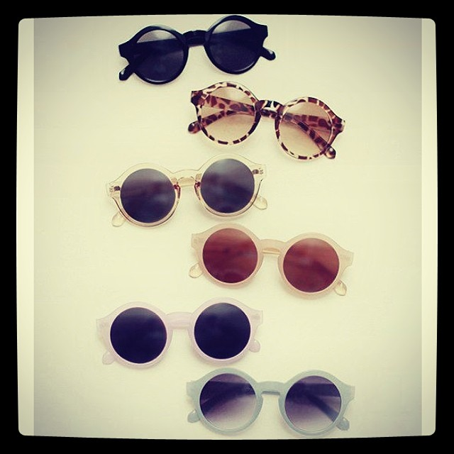 #sunglasses #frames #optical #round #colours #shapes #retro #vintage #geekchic #fashion #womanswear #womansfashion #modernoptical
