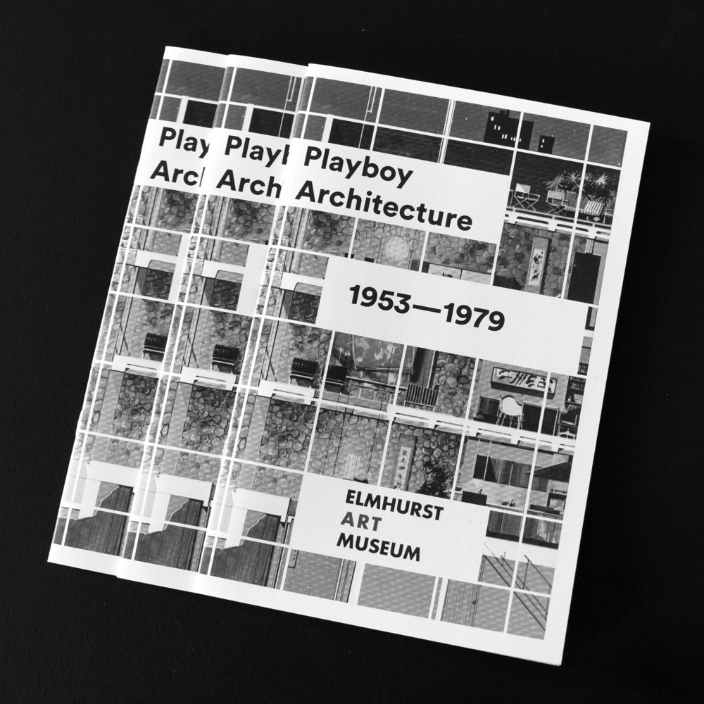 Playboy Architecture, 1953-1979       Playboy Architecture, 1953-1979  explores the crucial role of modern architecture—interiors, furniture, and product design—in constructing the  Playboy  imaginary: a universe of radical interiority and total environments that sustain the art of seduction.