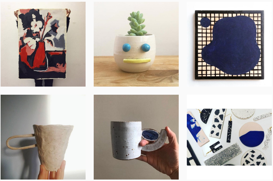 DIY Art Market Instagram