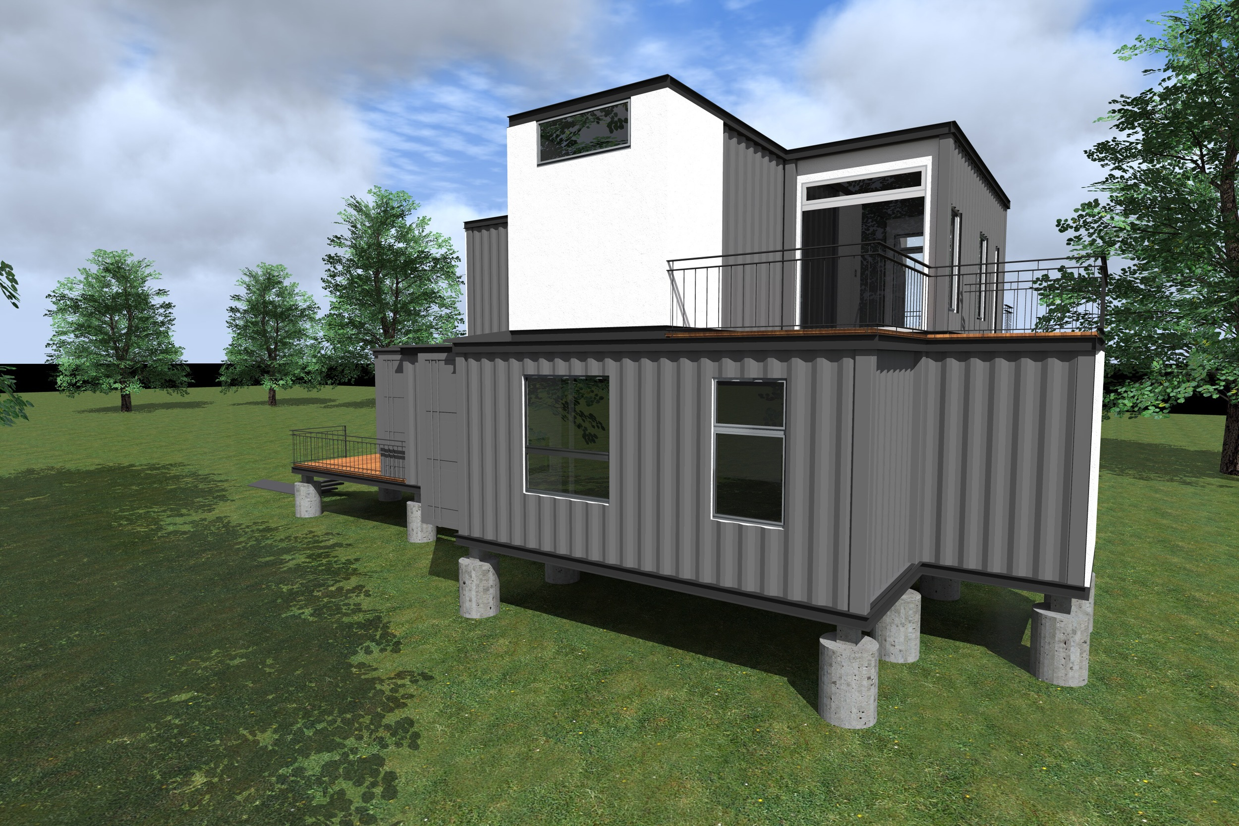 container house u2014 cass cheesar architects