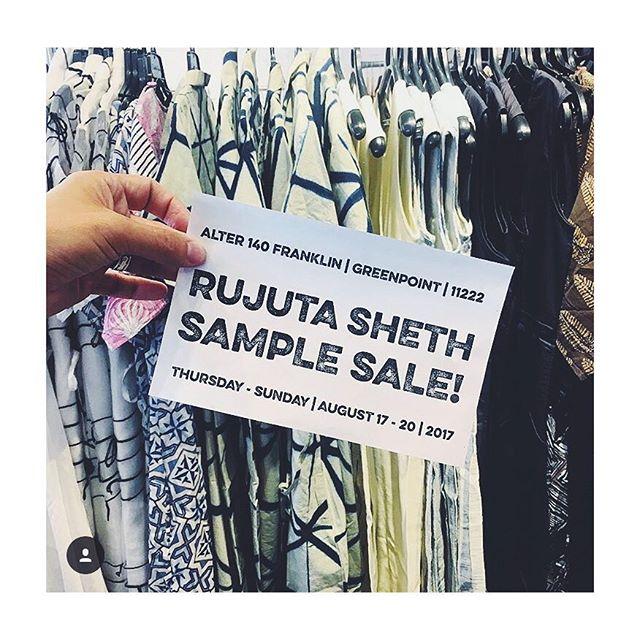 Mega SAMPLE SALE ❤️ @alterbrooklyn  #shoptillyoudrop  #salealert #shopnow