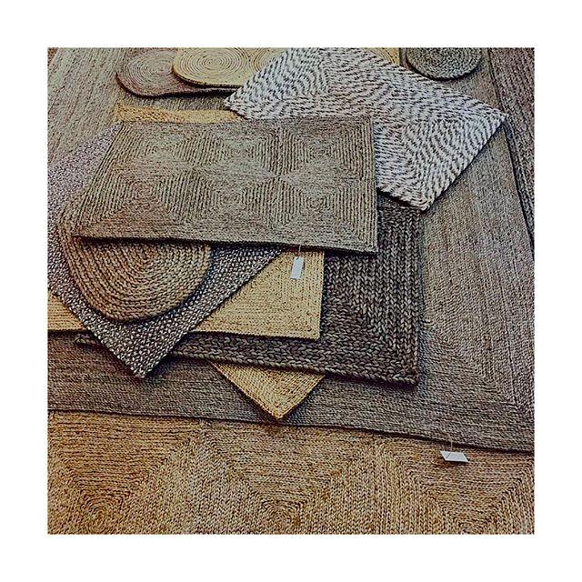 Beautiful handmade jute rugs #sustainableliving #madeinindia